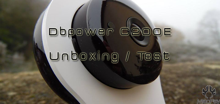 [UNBOXING/TEST] DBPower C200E