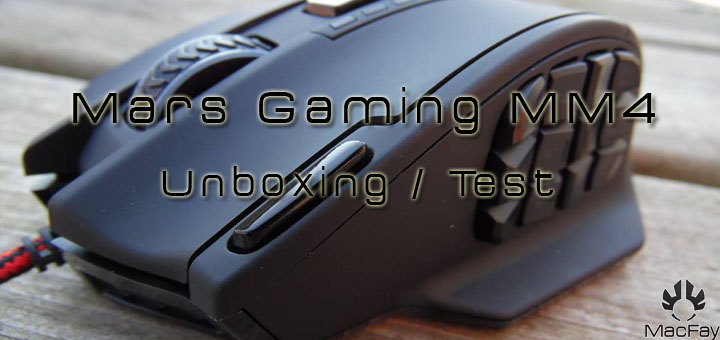 [UNBOXING/TEST] Mars Gaming MM4