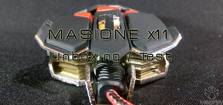 [UNBOXING/TEST] MASIONE X11