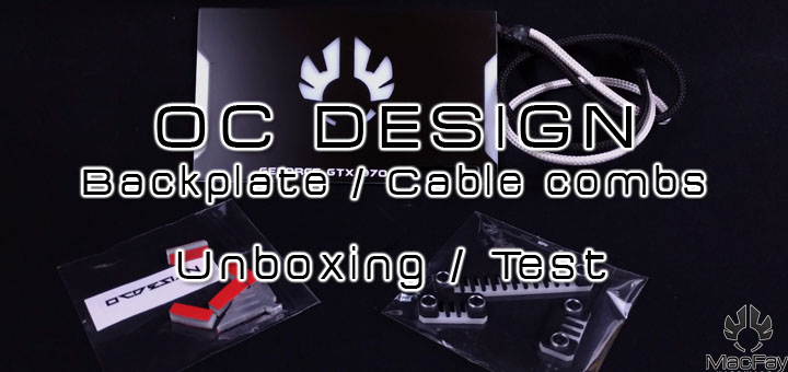 OC Design Backplate / Cable combs