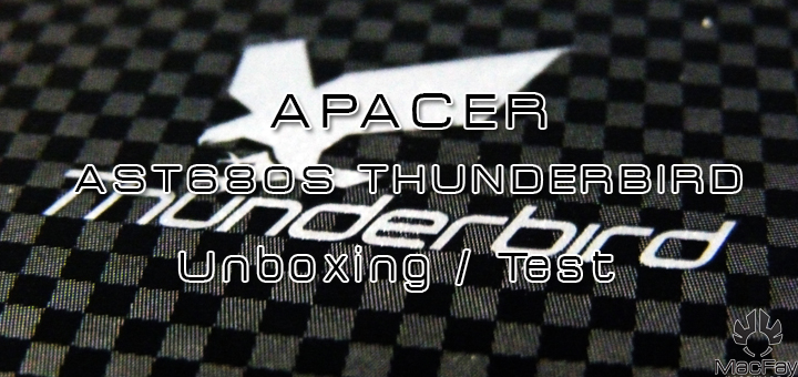 [UNBOXING/TEST] SSD APACER AST680S THUNDERBIRD
