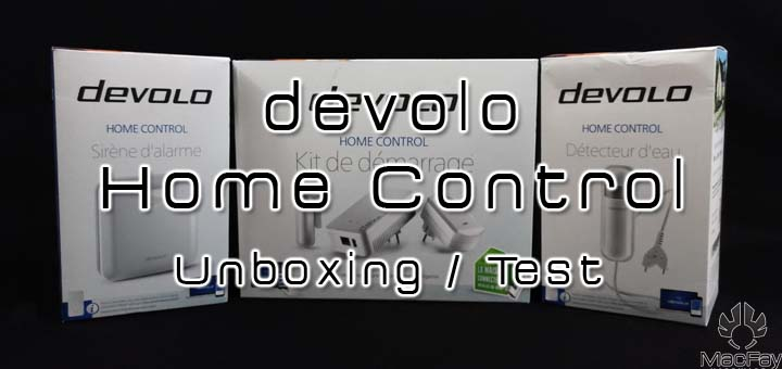 [UNBOXING/TEST] devolo kit domotique home control