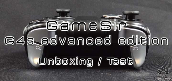 [UNBOXING/TEST] Manette GameSir G4s