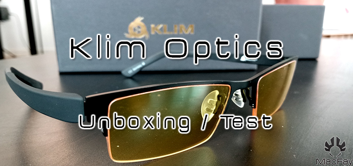 [UNBOXING/TEST] Klim Optics