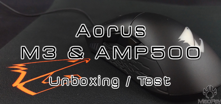 [UNBOXING/TEST] Combo AORUS M3 & AMP500