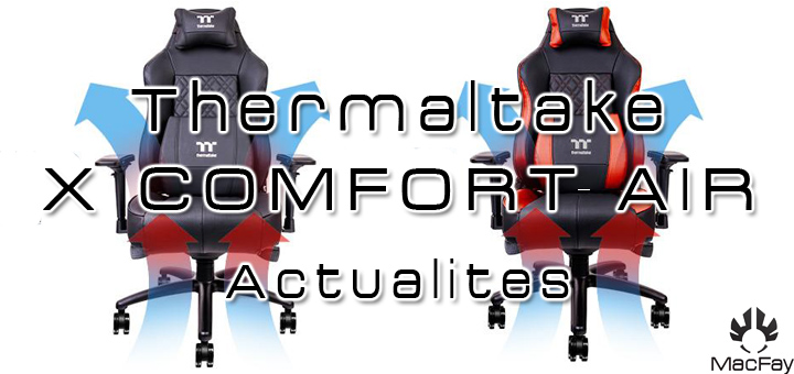 Thermaltake X COMFORT AIR Cooling