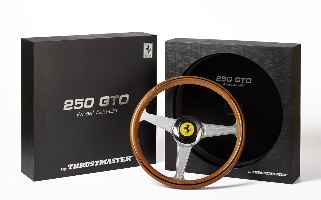 Thrustmaster présente le Ferrari 250 GTO Wheel Add-On