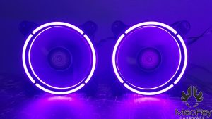 LC-Power ventilateurs et bande led RGB LC-CF-RGB-COMBO