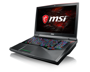 laptop msi gaming GT75VR