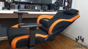 siege gaming Nitro Concepts S300 Noir/Orange
