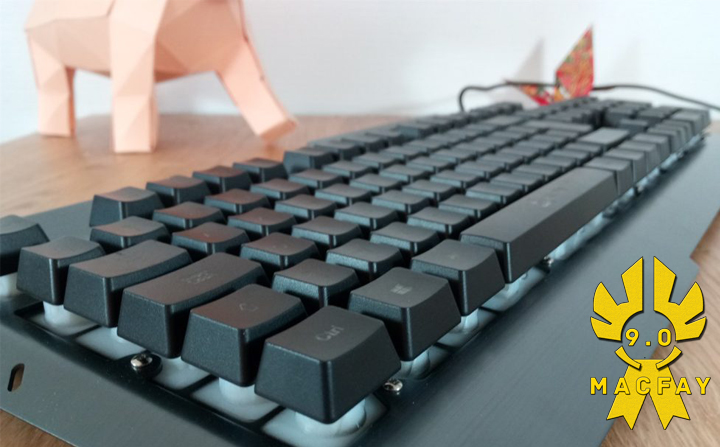 [UNBOXING/TEST] Clavier KLIM Lightning