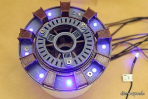 Gizmo2Poche modding Iron Man Mark II