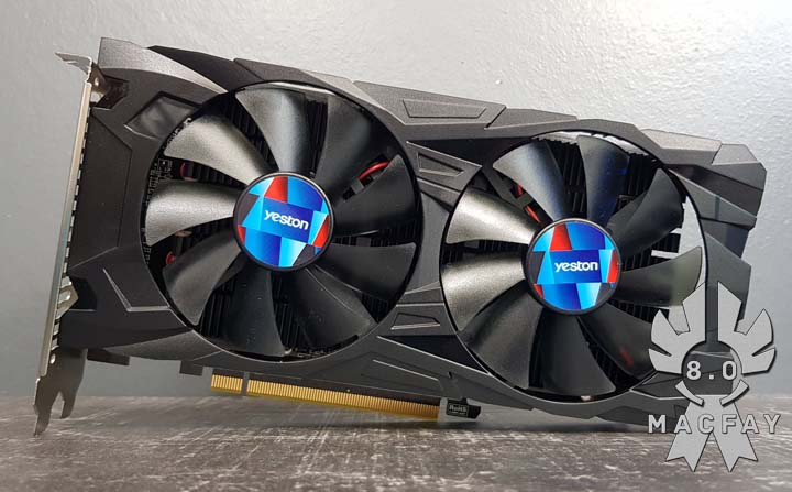 [UNBOXING/TEST] Yeston RX550 4Gb