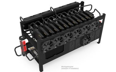 Alphacool lance le mining rig 12 !