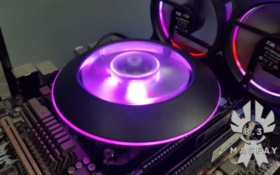 [UNBOXING/TEST] Cooler Master Masterair G100M