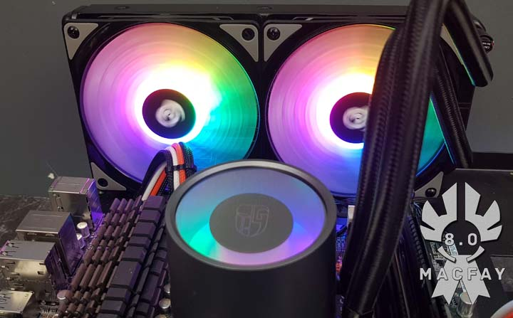 [UNBOXING/TEST] Deepcool Castle 240 RGB