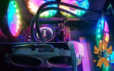 VENTILATEURS RGB COOLMOON x6
