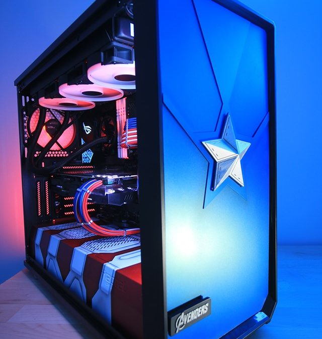 Une dose de PCMR chez les Avengers ! Modding by Phenom Design
