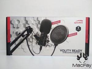 Test Speedlink Volity Ready Streaming Starter Set