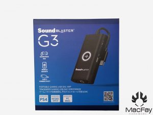 Test Creative Sound Blaster G3