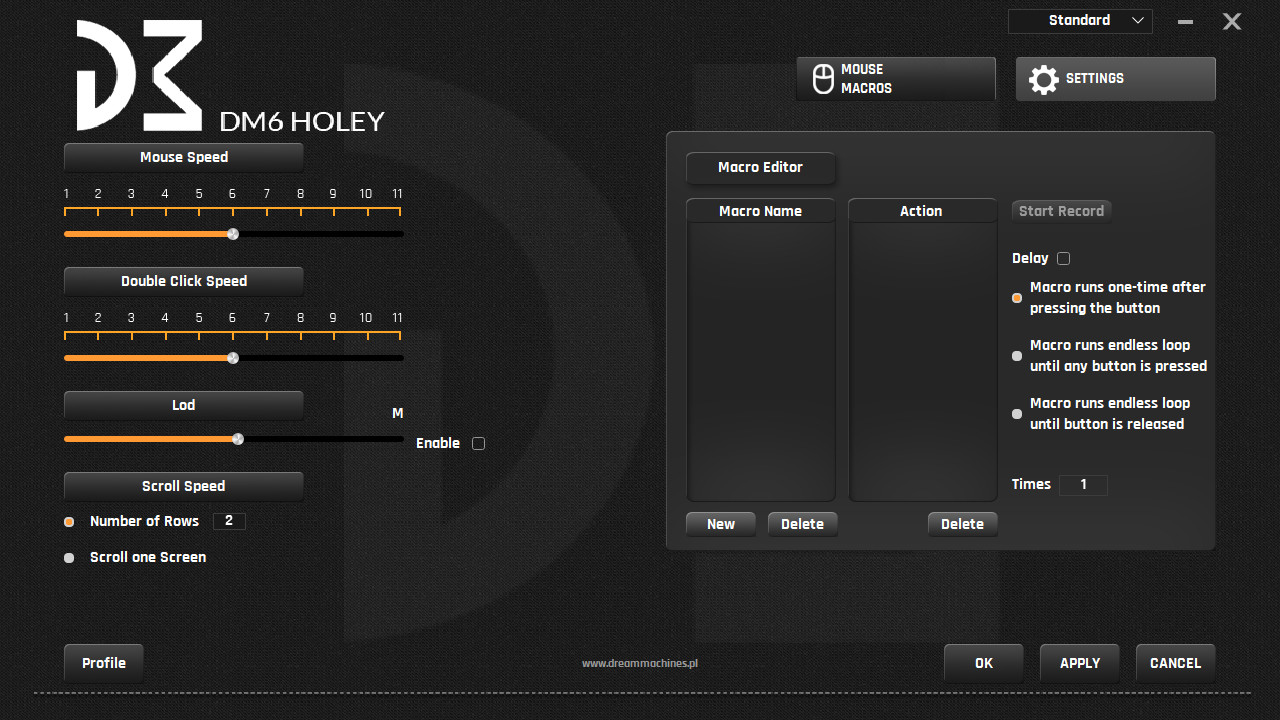 Test Dream Machines DM6 Holey