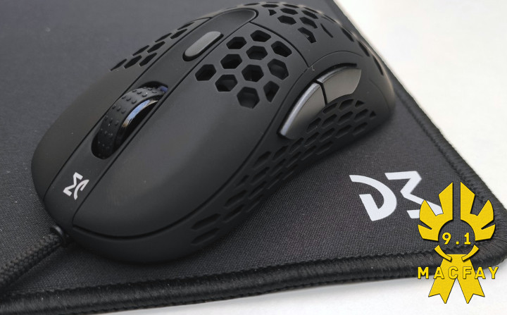 Test de la souris gaming Dream Machines DM6 « Holey »