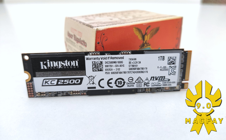 Le SSD NVME Kingston KC2500 1To en test
